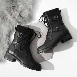 軍裝風馬丁靴