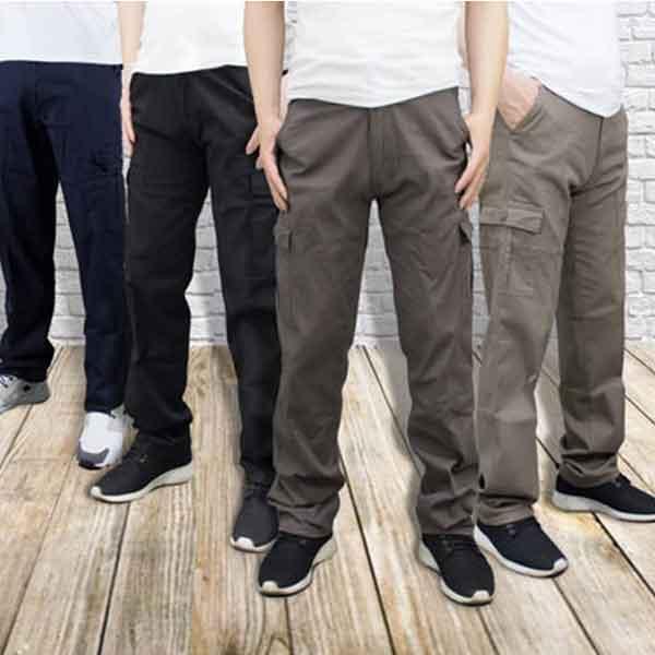 夏日輕薄透氣工作褲
