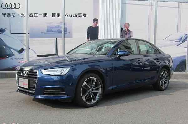 2017 A4 Sedan 40 TFSI