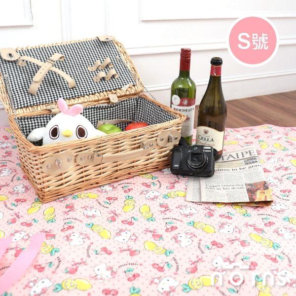 Hello Kitty收納式野餐墊