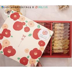 椿花─QQ雪花餅禮盒(18入)