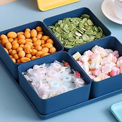 創意家用零食收納盤