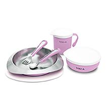 VIIDA Souffle 抗菌不鏽鋼餐具組 五色可選