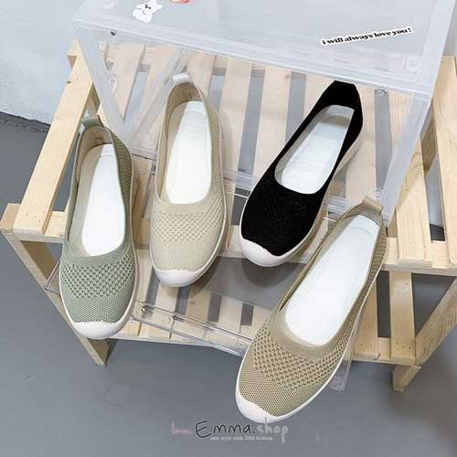 韓國同步上新軟底樂福鞋