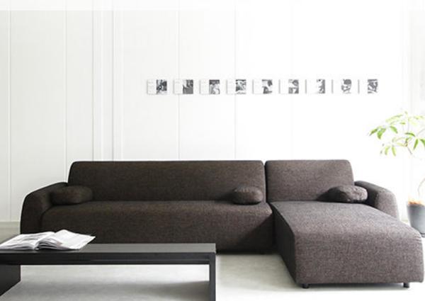 簡約L型布沙發-時尚設計.提升居家質感