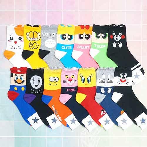 韓國空運卡通棉襪