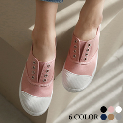 正韓學院風奶油包鞋