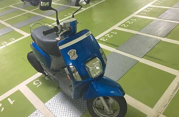 自售CUXI 100 藍色 機車