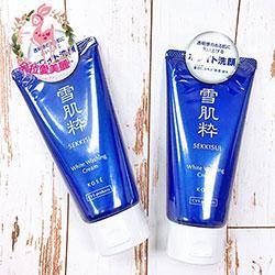 日本KOSE高絲雪肌粹洗面乳