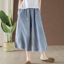 薄款牛仔裙褲