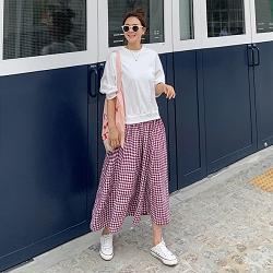 正韓拼接假兩件式連身裙 (3色)