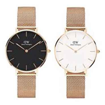 DW金屬編織手錶