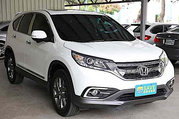 2015年Honda CRV 小改款 盲點攝影
