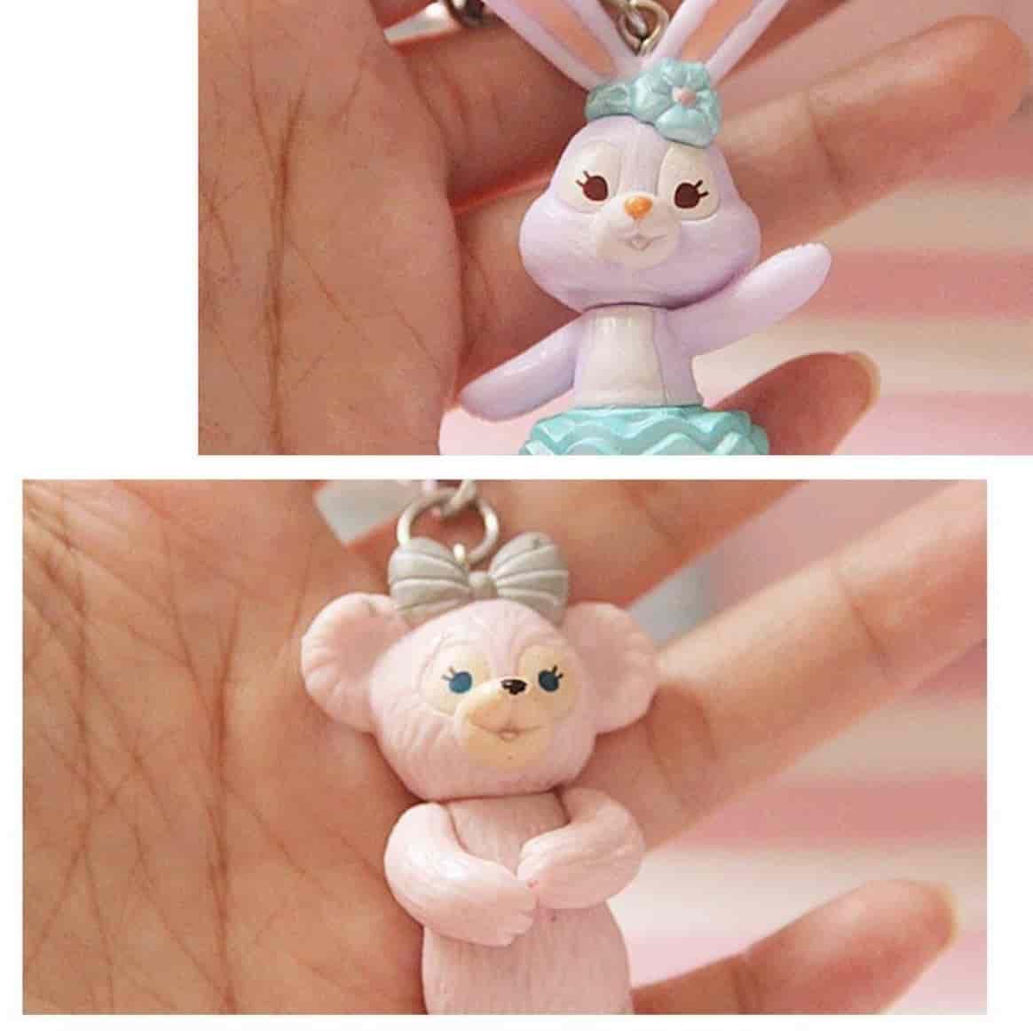 日本迪士尼 史黛拉兔 雪莉玫 達菲熊 鑰匙圈