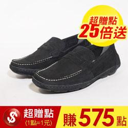 巴西男士皮革商務休閒鞋