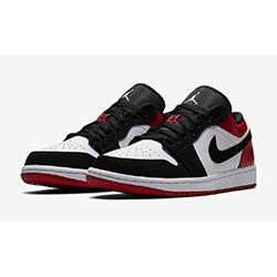 Jordan1 Low Toe