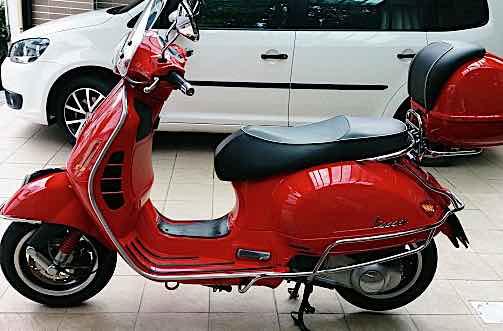 2012領牌 vespa GTS300 太古總代理