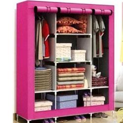 超大加寬加高8格防塵衣櫃