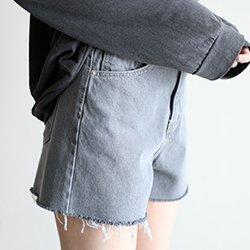 2件免運-正韓3分顯瘦牛仔短褲熱褲