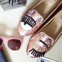 【 Y獨家!!】Chiara Ferragni 經典眨眼鞋均一價$3999