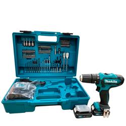 牧田12V鋰電震動電鑽套裝組