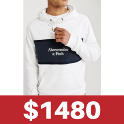 A&F連帽外套