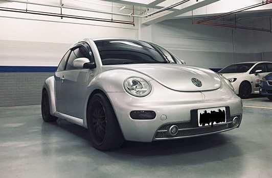 自售 beetle 1.8T 金龜車