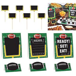 ELEGANI Super Bowl Buffet Decorating Kit