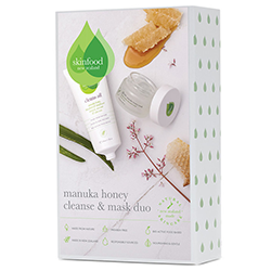 Manuka honey cleanse and mask skincare set