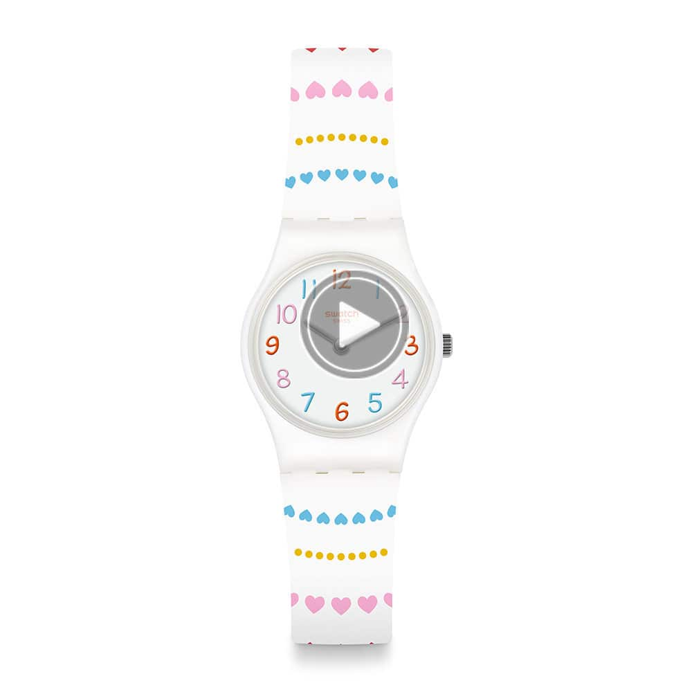 Swatch  Love is in the Air系列HERZLICH甜