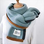 韓版秋冬保暖針織圍巾