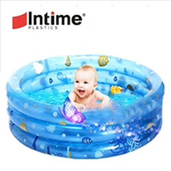 圓形三環充氣游泳池
