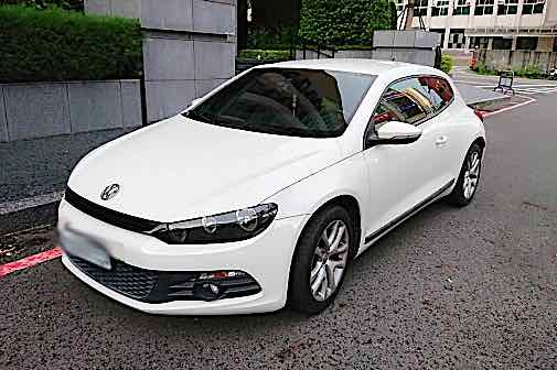 自售 2010 VW scirocco 女用一手車
