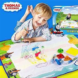 湯瑪士小火車神奇魔法大畫布