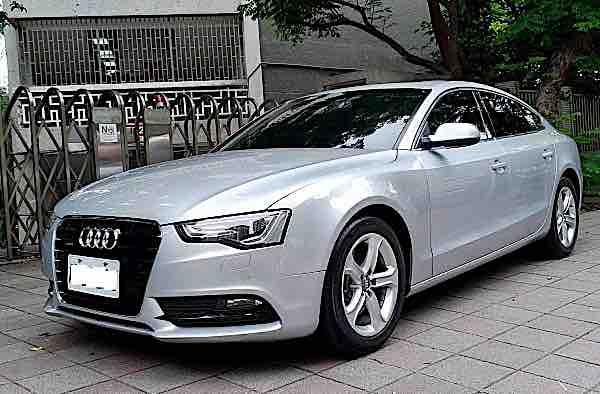 2014 Audi A5 2.0TQ 五門 原版件
