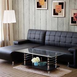 金田L型沙發+茶几+地毯