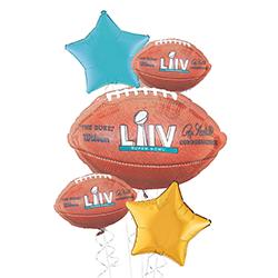 Giant Super Bowl Deluxe Balloon Kit