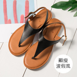 沙灘甜筒夾腳涼鞋