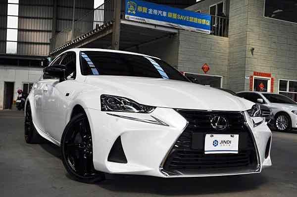 Lexus IS300 2018 限量鉑黑特仕版