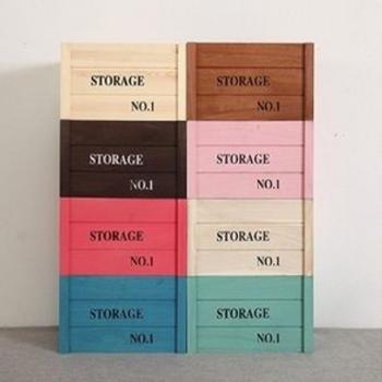 家居木質收納箱