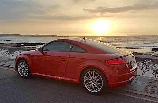 自售 2015年女用 紅色TT quattro