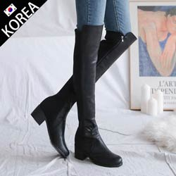 正韓ZARA同款 過膝長靴