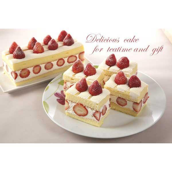 草莓季 草莓戚風蛋糕+芋泥球2盒
