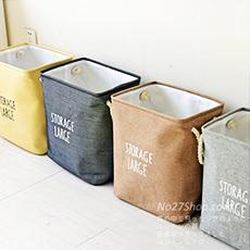 北歐風立體收納洗衣籃