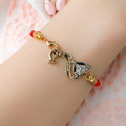 月老小狐紅線手環手鍊