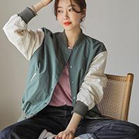 正韓個性棒球外套