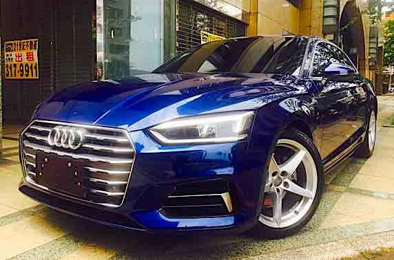 2017年 Audi A5CP 40TFSI Sport