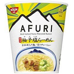 日清xAFURI 阿夫利柚子鹽杯麵