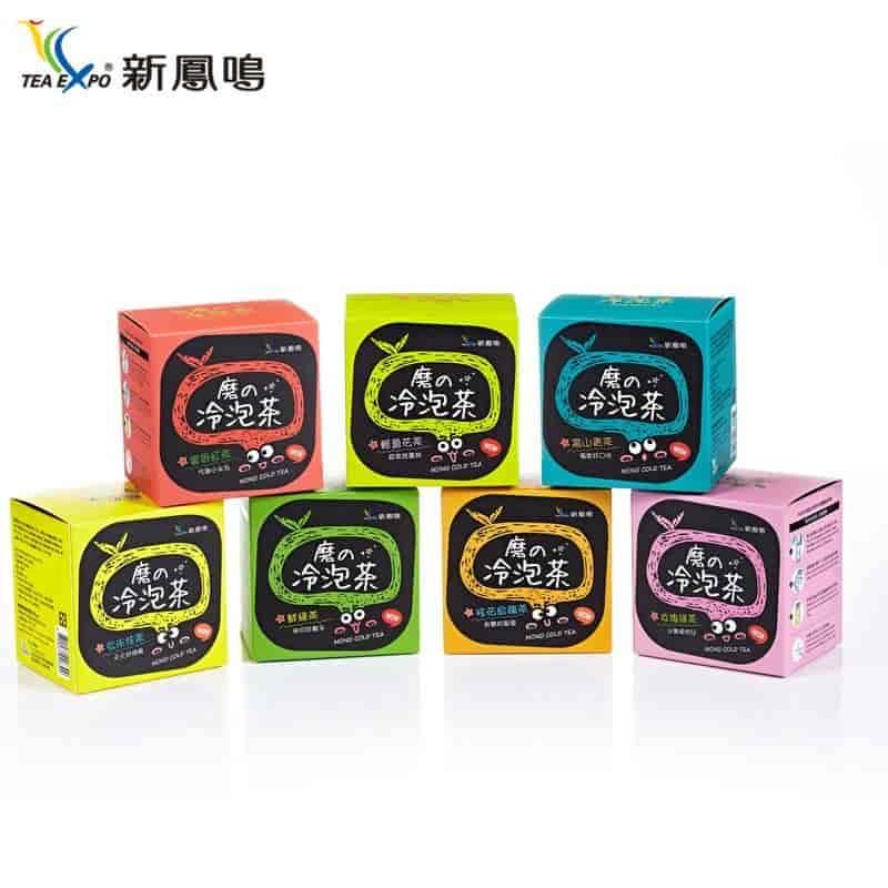 磨的冷泡茶10包/盒 七種獨家茶葉 辦公室熱銷品