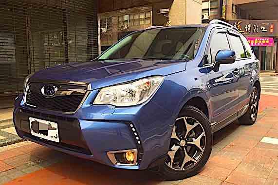 2015 Subaru Forester XT 水平對臥